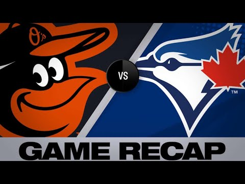 Grichuk Homers Twice In Blue Jays' 5-3 Win - 4/3/19