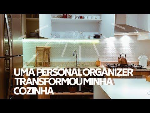 ORGANIZANDO A CASA COM UMA PERSONAL ORGANIZER - VLOG