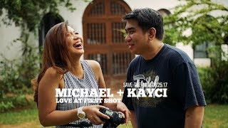 Michael and Kayci: Love At Fist Shot #SaveTheDate