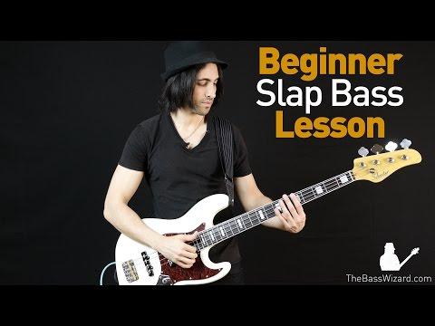 Slap Bass Lesson - Beginner/Intermediate (The Bass Wizard)