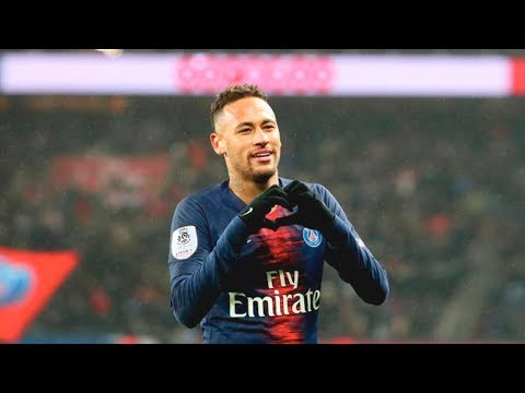 Neymar vs Guingamp (Home) HD 720p (19/01/2019)