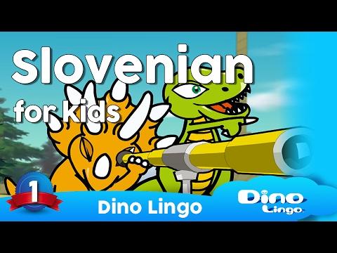 Learn Slovenian for kids - Animals - Online Slovenian lessons for kids - Dinolingo