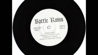 "Battle Ruins - Self Titled 7"" EP (2010)"
