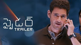 SPYDER Official Telugu Trailer