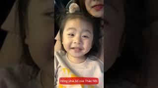 QUEENIE | Con gái diễn viên Vân Trang | Mẹ dạy em phân biệt Ba và Bố