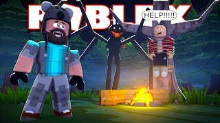 I Have To Save Mikey From The Beast Roblox Camping Trip