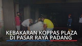 Kebakaran Kembali Terjadi di Pasar Raya Padang, Pemadaman Masih Berlangsung