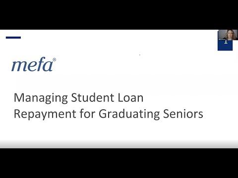 Managing Student Loan Repayment for Graduating College Seniors