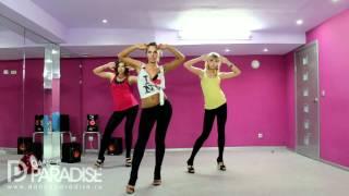 Смотреть онлайн Учим несколько движения для танца гоу гоу