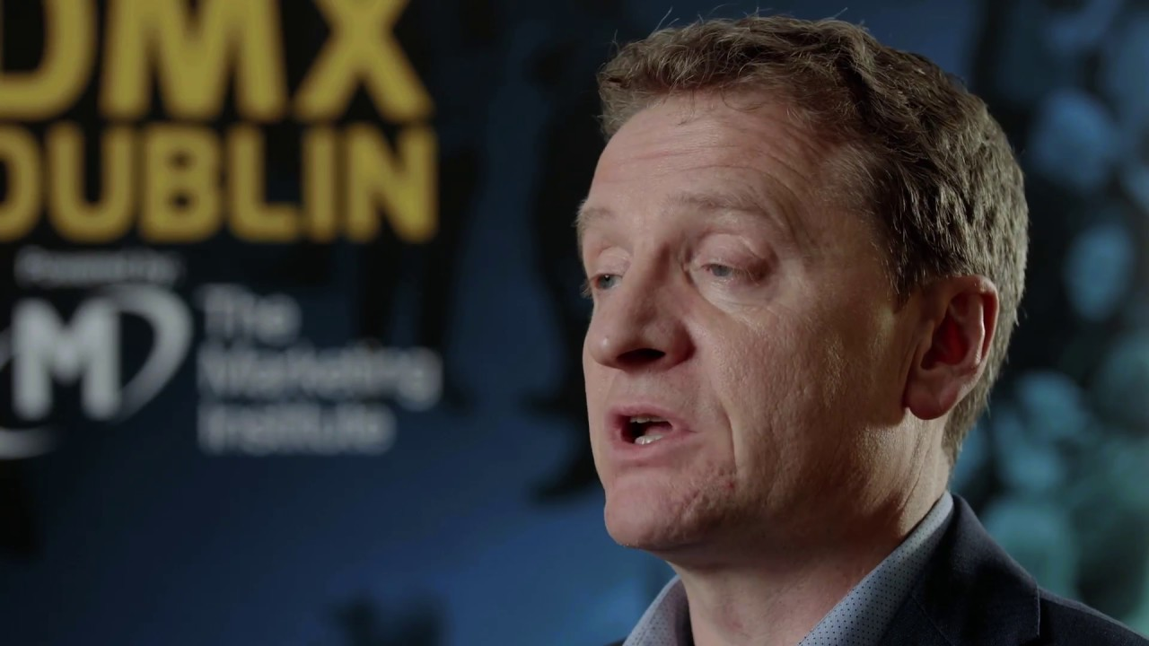 Colin Lewis interview @ DMX Dublin 2018