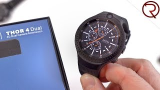 Zeblaze Thor 4 Dual Unboxing and Hands On - A Smartwatch with Two Cameras