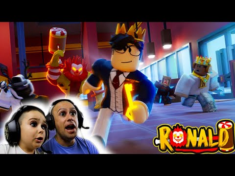 Roblox Ronald 3! Tubersfunfam Gaming VS the mad scientist lab escape! Not expecting that ending!!