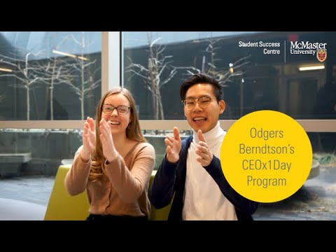 Watch Odgers Berndston CEOx1Day Program (2020) on Youtube.