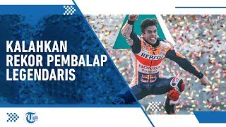 Menjadi Juara Dunia MotoGP 6 Kali, Marc Marquez Kalahkan Rekor Mick Doohan, Legenda Balap GP500