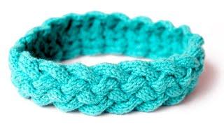 Easy Knit Headband For Beginners - Knit Headband For Baby