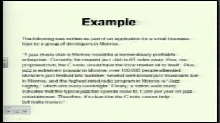 GRE Exam Preparation Lecture: Analytical Writing and Reading Comprehension