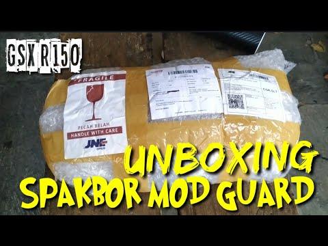 UNBOXING || SPAKBOR MODGUARD || GSX R150