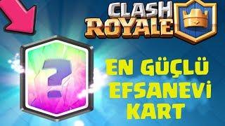EN GÜÇLÜ EFSANEVİ KART İLE MAÇLAR !!! - Clash Royale