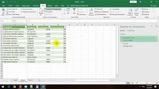 Import CSV File into Excel 2019