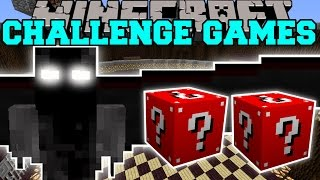 Minecraft: DEMON ANGEL CHALLENGE GAMES - Lucky Block Mod - Modded Mini-Game