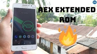 Aex 4 5 stable rom on grand prime - hmong video