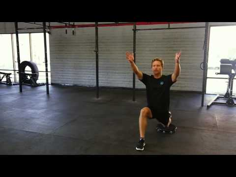 Half Kneeling Groin Stretch