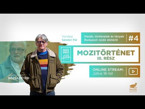 BUDAPEST ZSIDÓ ARCA – Mozitörténet III. rész: Beszélgetés Sándor Pállal (Trailer)