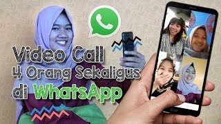Review dan Tutorial Video Call Rame-rame via WhatsApp