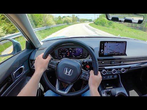 2022 Honda Civic - POV Test Drive (Binaural Audio)