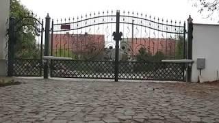 Автоматика для распашных ворот Nice Wingo 3524, Италия от компании VOROTA - видео