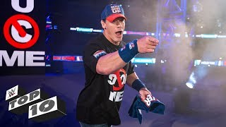 John Cena's most exciting returns: WWE Top 10, Jan. 5, 2019