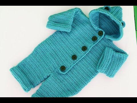 Crochet baby coat very easy