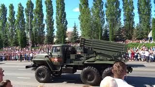Парад к 75-ю Победы в Курской битве (проезд техники) - 23 августа 2018г.