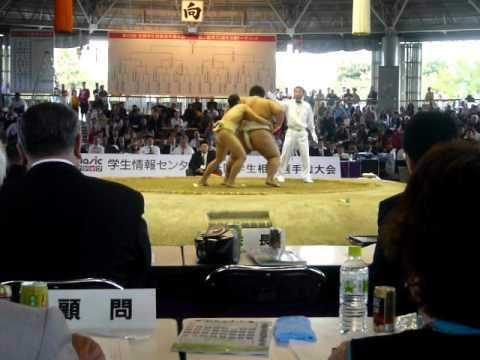 2011学生選手権 宇良 対 田邉.MOV