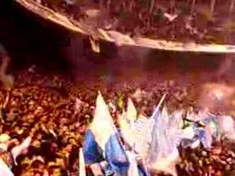 """Entrada Guardia Imperial vs Chicago"" Barra: La Guardia Imperial • Club: Racing Club • País: Argentina"