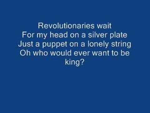 Viva La Vida (Lyrics)