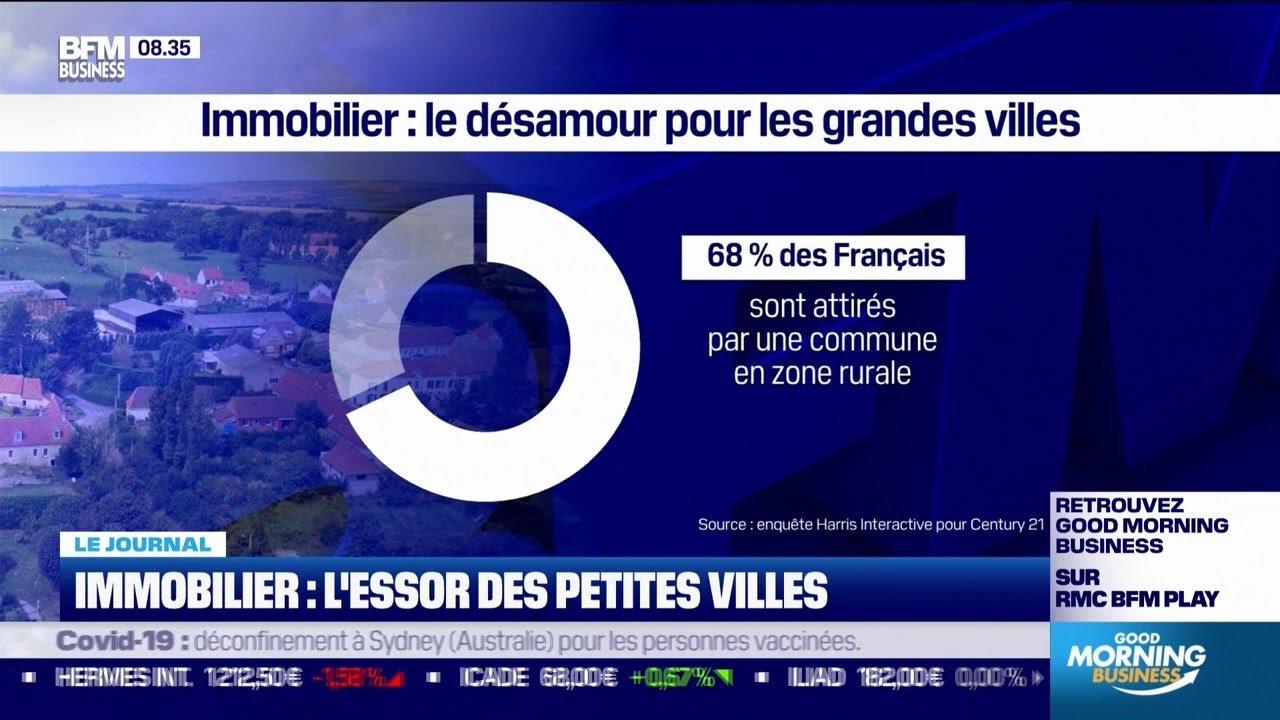Immobilier : les petites villes attirent de plus en plus les Français