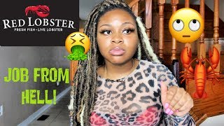 WHY I QUIT RED LOBSTER AFTER 48 HOURS.... WORST JOB EVER!!!