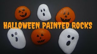 DIY Halloween Painted Rocks | Kids Halloween Craft