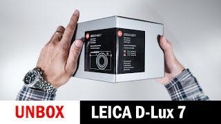 Unboxing: Leica D-Lux 7