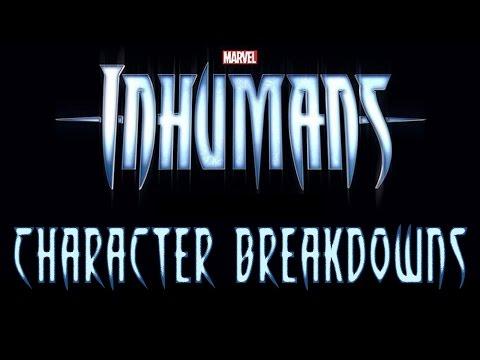 Marvel's Inhumans TV Show Character Breakdowns   Newsbite   That Hashtag Show