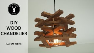 diy-wood-chandelier-half-lap-joints