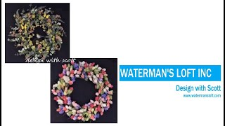 Floral Wreath | Two Styles | Easy DIY Floral Wreaths