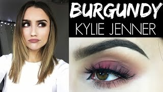 MAKEUP  THE BURGUNDY  KYLIE JENNER