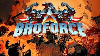 Угарные бои в Broforce!!!