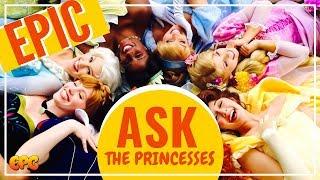 EPIC Ask The Disneyland Princesses Meet & Greet Compilation 2018!