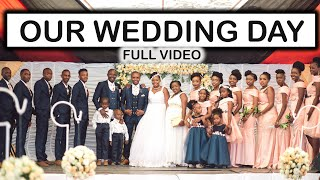 OUR FULL WEDDING VIDEO (PART 1) THE WAJESUS FAMILY