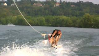 Air Chair Faceplant in Slow Motion - Ace Frehley - Foxy and Free