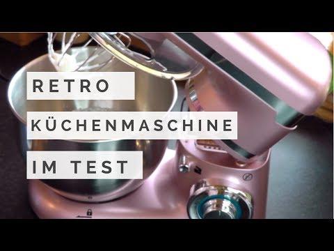 ALDI Retro Küchenmaschine von Quigg - Unboxing - Demo- Review