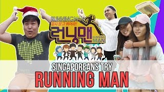 Singaporeans Try: RUNNING MAN at Gardens by the Bay